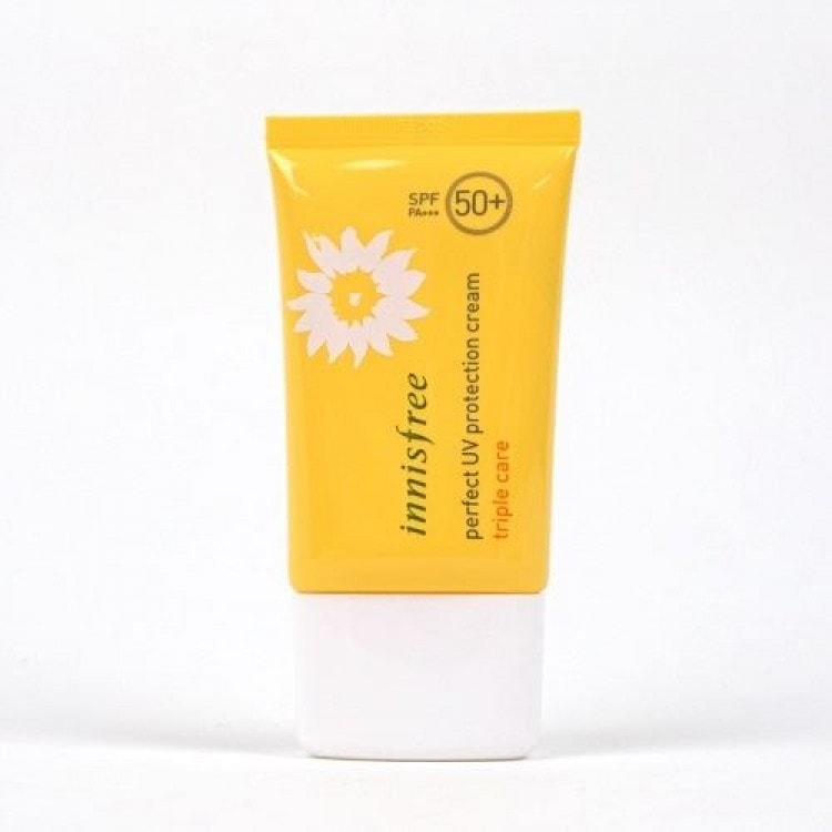 Kem chống nắng innisfree perfect uv protection cream triple care tốt không